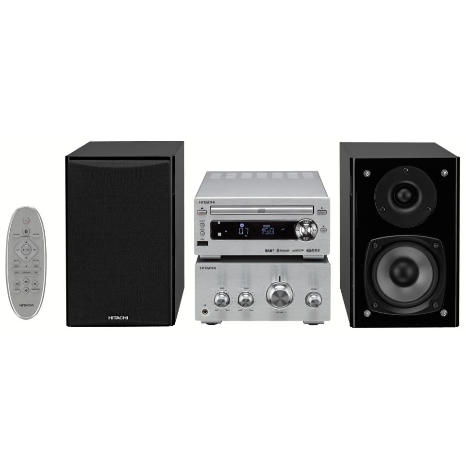 Tidsmæssigt Hitachi Hi-Fi mikroanlæg AXM139E - Laveste pris LY-03